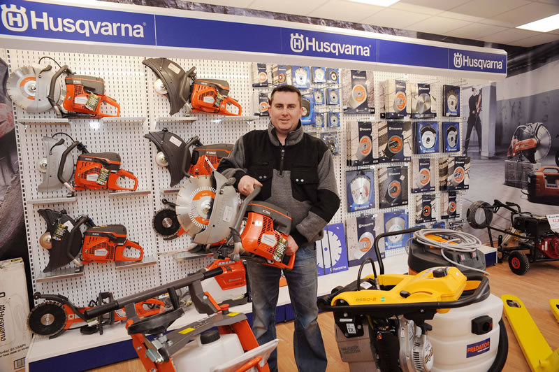 husqvarna construction centre charleville plant access and tool hire. Black Bedroom Furniture Sets. Home Design Ideas
